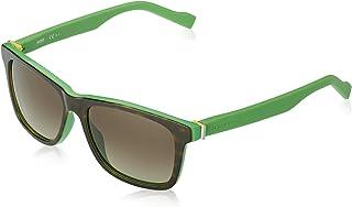 BOSS - Orange BO 0117/S HA FMM 54 Gafas de sol, Verde (Havana Green/Brown Sf), Hombre