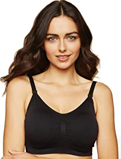 Women's Maternity Full Busted Seamless Clip Down Nursing Bra