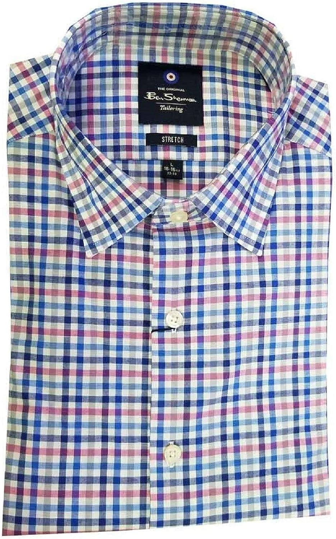 Ben Sherman Mens Long Sleeve Sport Shirt