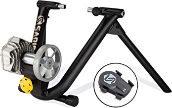 Saris CycleOps Fluid2 Smart Equipped Indoor Bike Trainer, Includes Speed Sensor