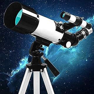 Kids Astronomical Telescope,70mm Aperture 400mm Astronomical Refractor Telescope,Professional Stargazing Entry-Level Stude...