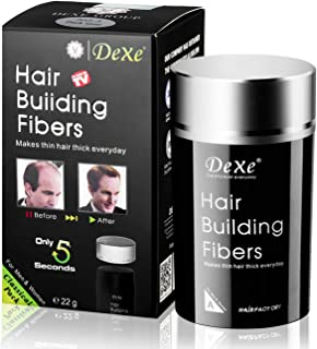 Dexe Hair Building Fibers 22g, Dark brown