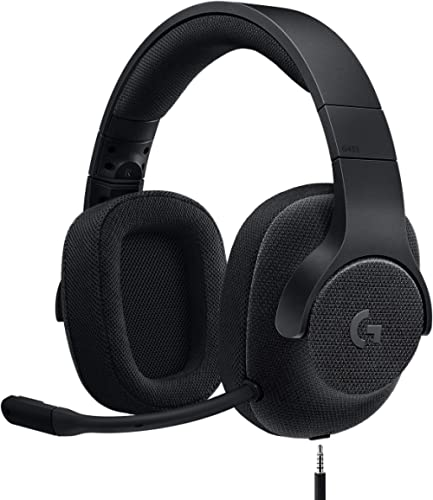 Logitech G433 Casque Gamer Filaire, Son 7.1 Surround, DTS Headphone:X, Transducteurs Pro-G, Poids Léger, USB/Audio Ja...