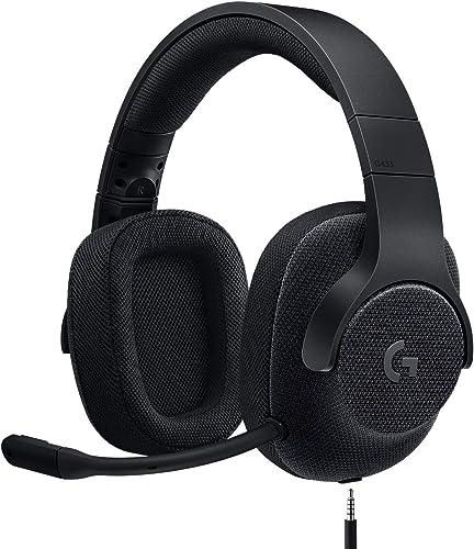 Logitech G433 Casque Gamer Filaire, Son 7.1 Surround, DTS Headphone:X, Transducteurs Pro-G, Poids Léger, USB/Audio Ja...