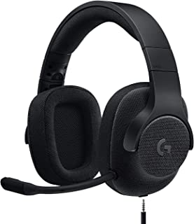 Logitech G433 Auriculares Gaming con Cable, Sonido 7.1 Surround, DTS Headphone:X, Transductores 40mm Pro-G, Peso Ligero, U...