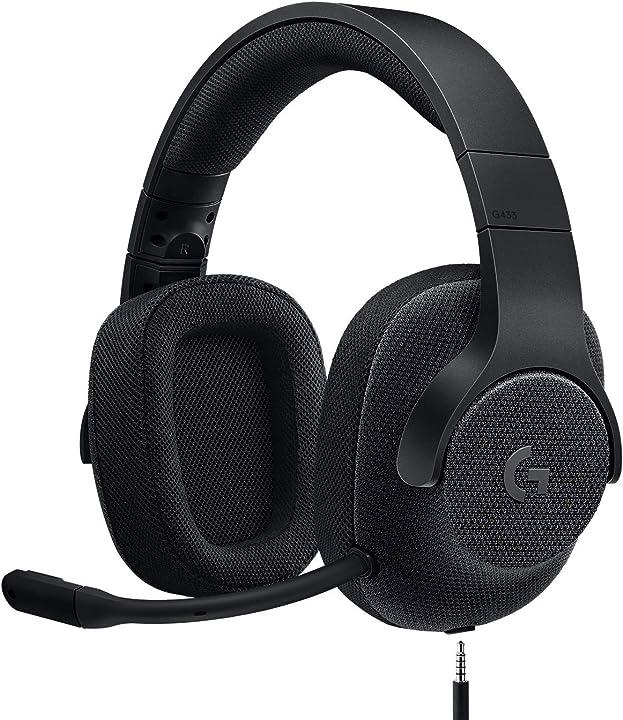 Cuffie gaming logitech g433 cablate, audio surround 7.1, cuffie dts: x, driver audio ?pro-g da 40 mm