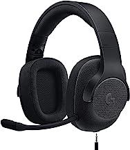 Logitech G433 Cuffie Gaming Cablate, Audio Surround 7.1, Cuffie DTS: X, Driver Audio Pro-G da 40 mm, Leggere, Jack audio ...