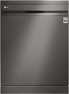 LG 10 Programs 14 Place settings Free standing Steam wash Dishwasher, Matte Black Stainless Steel - DFB227HD, 1 Year Warranty