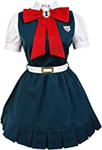 LYLAS Women's White Short Sleeve Dress Halloween Party Suits Cosplay Costume