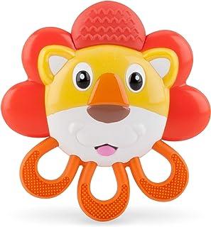 Nuby Vibe-EEZ Teether- Lion