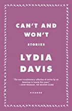 Can't and Won't: Stories
