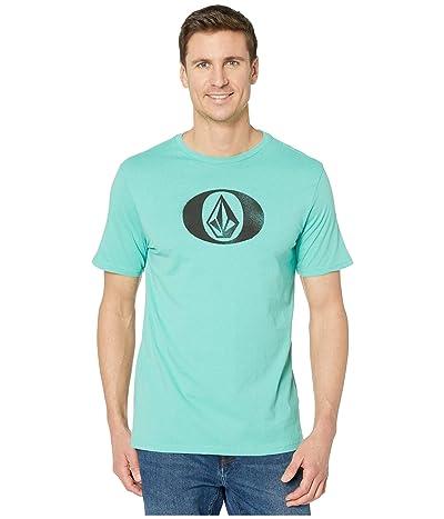 Volcom Eliptical Short Sleeve Tee (Mysto Green) Men