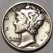 1942 S Mercury Dime Extremely Fine