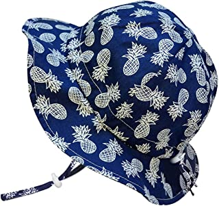 JAN & JUL Boys 50+UPF Breathable Cotton Sun-Hat with...