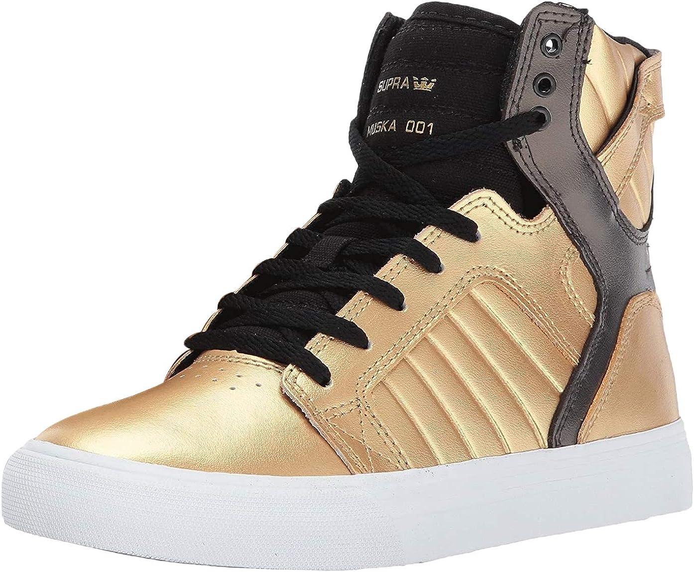 supra gold high tops