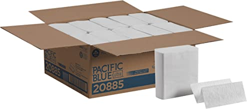 Pacific Blue Ultra Z-Fold Paper Towels (previously branded Big Fold Z) by GP PRO (Georgia-Pacific), White, 20885, 260 Towels Per Pack, 10 Packs Per Case