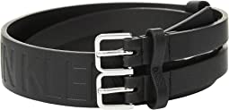 40 mm Flat Split Strap Belt