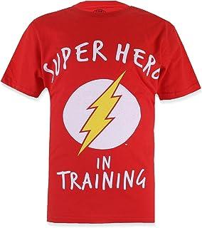 DC Comics Boy's The Flash Training T-Shirt