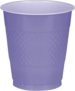 New Purple Plastic Cups Big Party Pack, 16 Oz., 50 Ct.