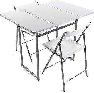 Versa Andrea Set de Table et Deux chaises pour Cuisine, terrasse, Jardin, Balcon ou Salle à Manger, Table et chaises, Dime...