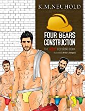 Four Bears Construction Coloring Book