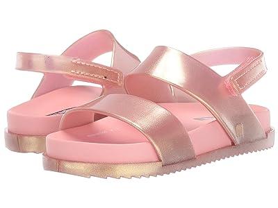 Mini Melissa Mini Cosmic Sandal (Toddler/Little Kid) (Rose Gold) Girls Shoes