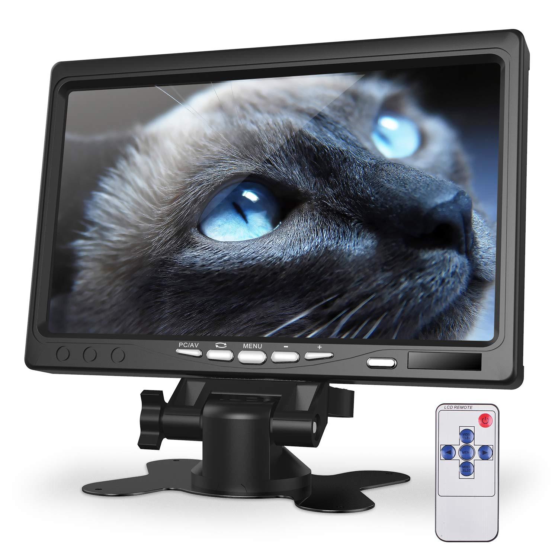 Kuman Monitor de 7 Inch HD Pantalla 1024x600 IPS para Raspberry Pi 4 B 3 2B