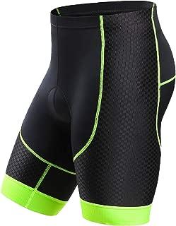 Letook Men's Bike Shorts Gel Padded Comfortable Professional Road Bike Bicycle Riding Shorts Quick Dry