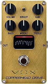 VOX エレクトリックギター用 コンパクトエフェクター COPPERHEAD DRIVE VE-CD コッパーヘッド・ドライブ 真空管 Nutube搭載 オーバードライブ
