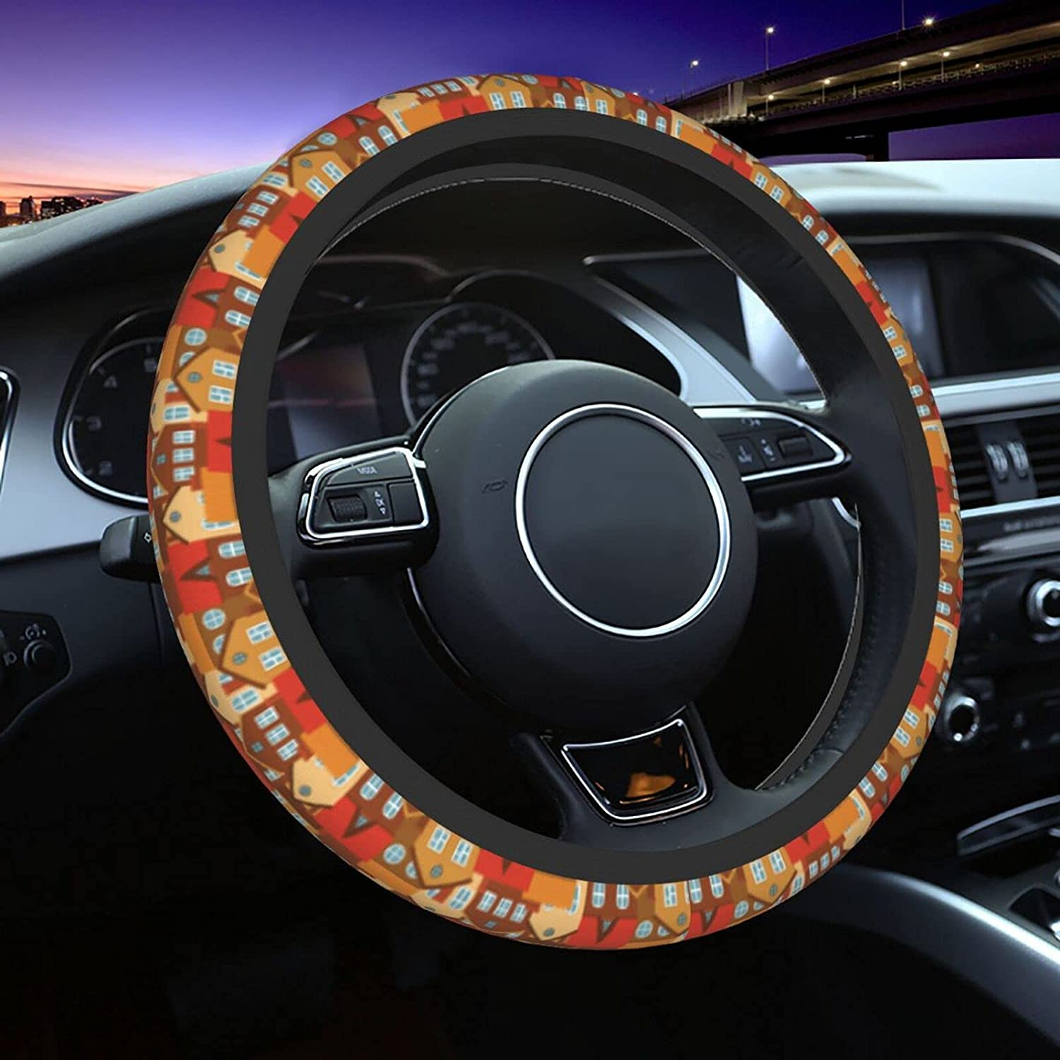 Beautiful House Seamless Steering Soft Wheel Wholesale Whe Covers Sales for sale