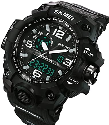 Relojes de Hombre de Moda 2018 Sport Water Resistant Watch Reloj Digital Men RE0088