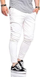 Jack & Jones Pantalon Chino Homme Chinos Coupe Slim Unicolore Chic Tendance