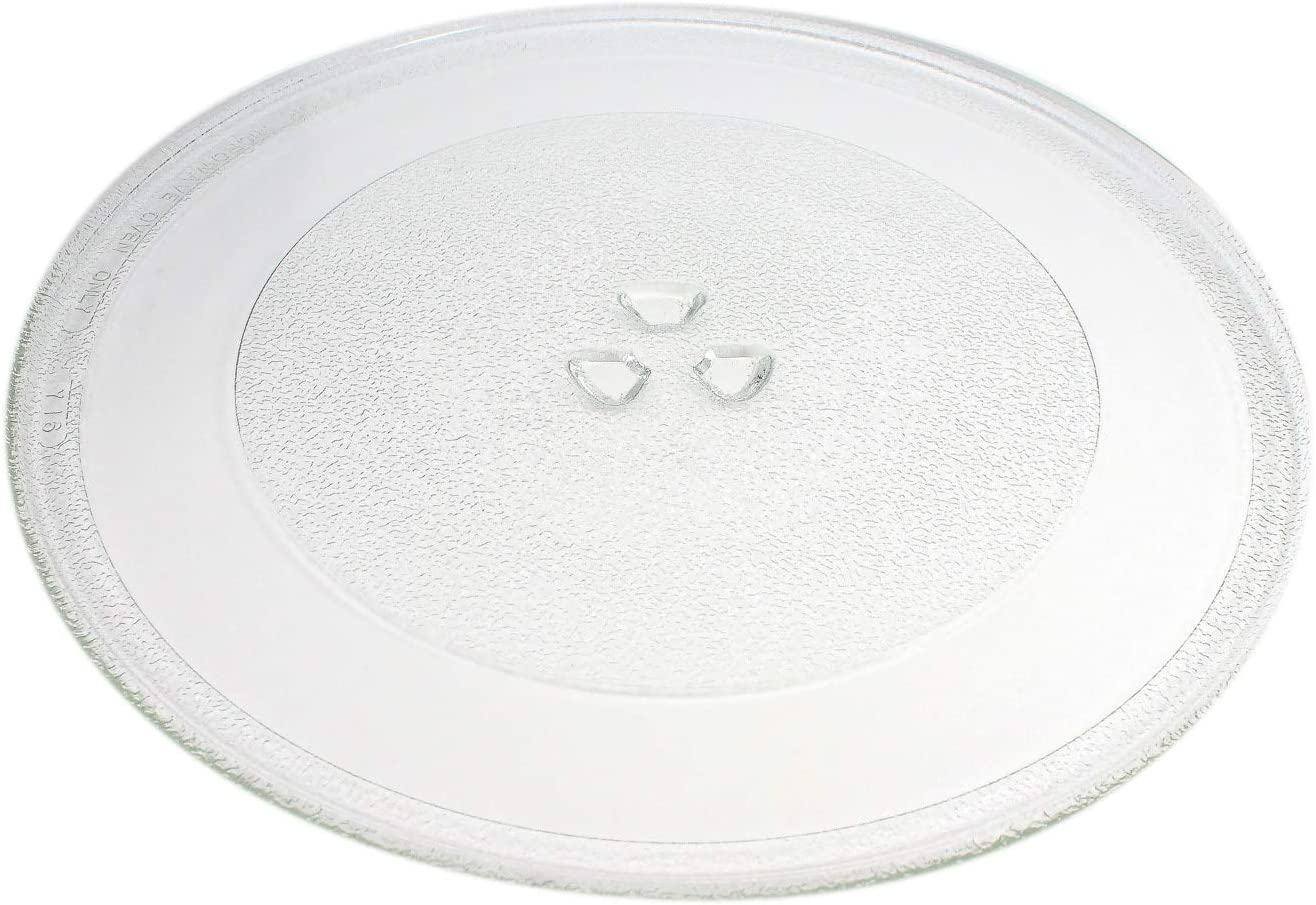 2-Pack WP8172138 Microwave Glass Turntable Plate Replacement for