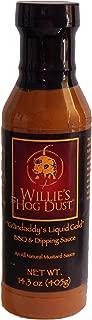 Willie's Hog Dust Grandaddy's Liquid Gold BBQ Sauce