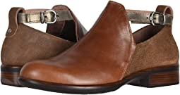 Maple Brown Leather/Antique Brown Leather/Pewter