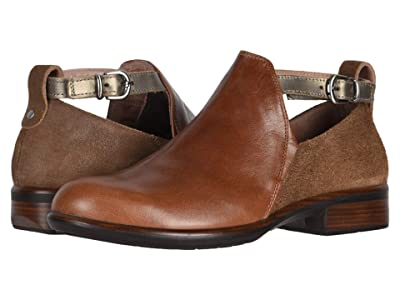 Naot Kamsin (Maple Brown Leather/Antique Brown Leather/Pewter) Women