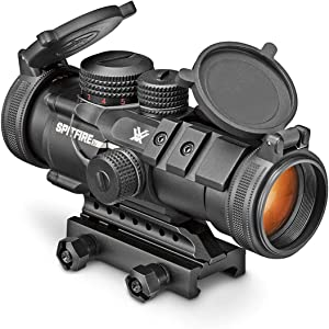 Vortex Optics SPR-1303 Spitfire 3x Prism Scope with EBR-556B Reticle