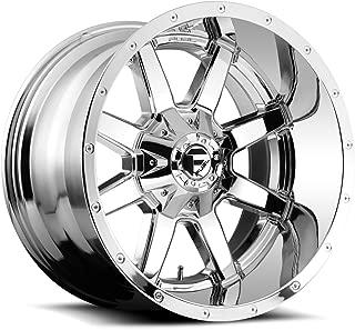 Fuel Maverick 24x14 Chrome Wheel / Rim 8x6.5 with a -75mm Offset and a 125.2 Hub Bore. Partnumber D53624408245