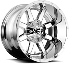 FUEL Maverick P -Chrome Wheel with Painted (20 x 12. inches /6 x 135 mm, -44 mm Offset)