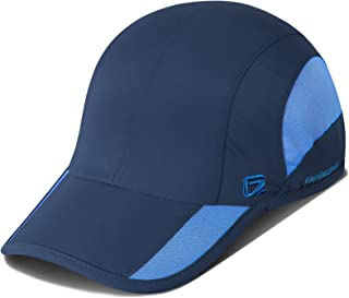 GADIEMKENSD Unstructured Quick Dry Sports Cap Outdoor Sun Protective Unisex 7-7 1/2 (56-60cm)