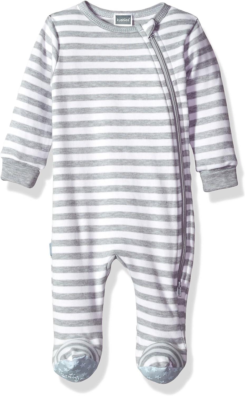 Kushies Baby Boys Classics Sleeper Side Zip