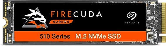 Seagate FireCuda 510 Gaming SSD, 500 GB, SSD Interna, NVMe 1.3, 3450 MB/s, 3D TLC NAND, PCIe Gen3 x4, 3 Años De Servicios Rescue (ZP500GM3A021)