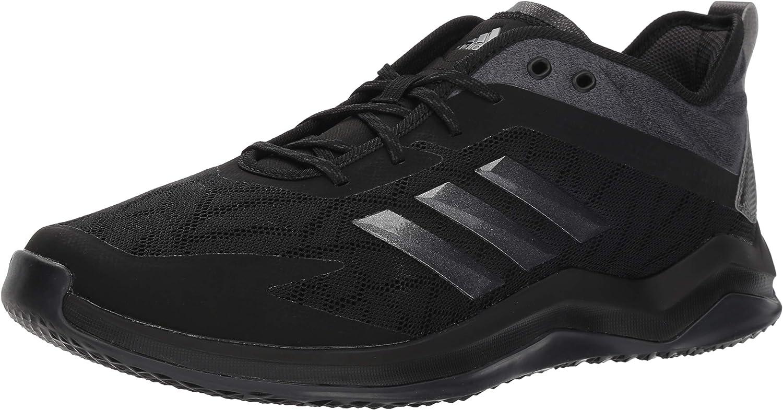 Adidas Men's Speed Trainer 4 Basebtutti sautope, nero Night Mettuttiic autobon, 12.5 M US