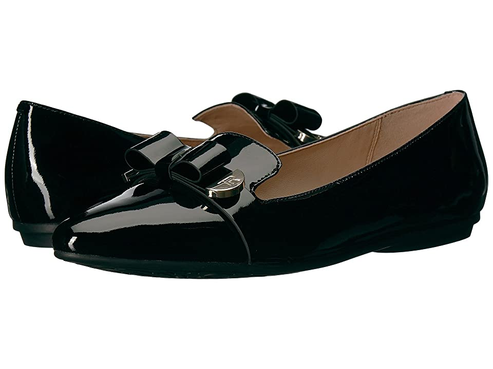 Taryn Rose Edith (Black Soft Patent) Women