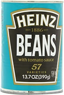 Heinz Beans in Tomato Sauce, 13.7-Ounce Cans (Pack of 12)