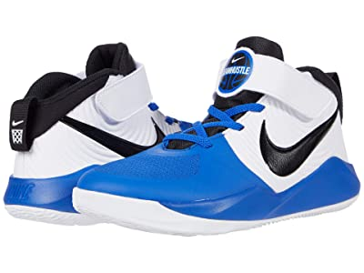 Nike Kids Team Hustle D 9 (Little Kid) (Game Royal/Black/White 2) Kids Shoes