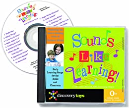 Discovery Toys Sounds Like Learning! CD with Educational Songs