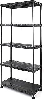 Tactix Plastic Shelf Unit (5 Tier)