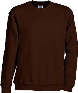 Sweatshirt Man of Round Neck Jumper Sweater Sweat-Shirt Hoodies Size S A La 5XL