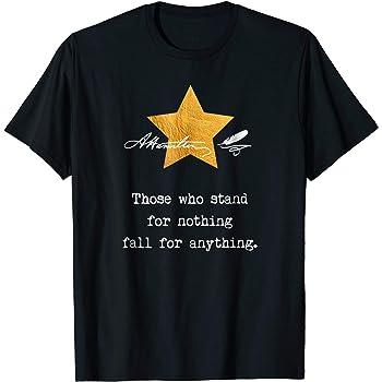Mens Hamilton Drama Tee T-Shirt Black